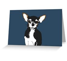 Zoe the Chihuahua Cartoon Portrait Greeting Card