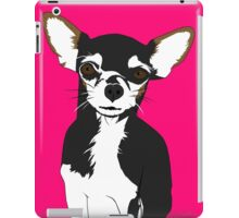 Zoe the Chihuahua Cartoon Portrait iPad Case/Skin