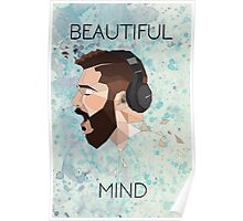 Jon Bellion Beautiful Mind Poster Poster