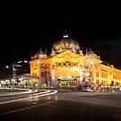 Flinders Station by Hany  Kamel