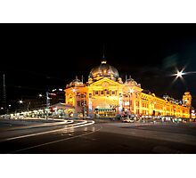 Flinders Station Photographic Print