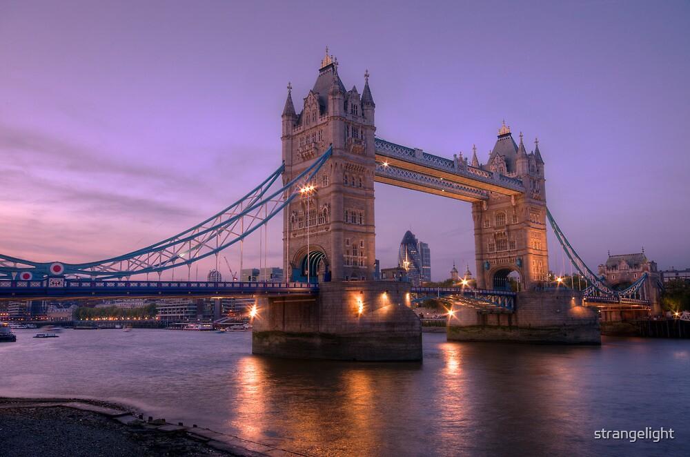 Tower Bridge at Sunset II, London, UK by strangelight