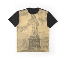 Vintage Statue Of Liberty #2 Graphic T-Shirt