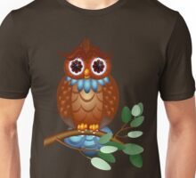 Big Brown Owl  Unisex T-Shirt