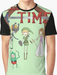 Zelda Time Graphic T-Shirt
