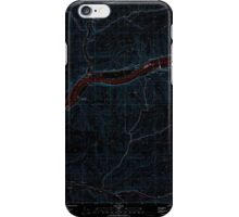 USGS Topo Map Washington State WA Starbuck East 244002 1981 24000 Inverted iPhone Case/Skin
