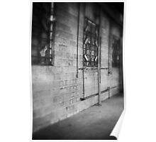 Abandoned Welding Shop Poster