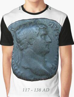 Ancient Roman Coin - EMPEROR HADRIAN Graphic T-Shirt