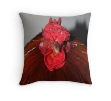 Run Devil Run Throw Pillow