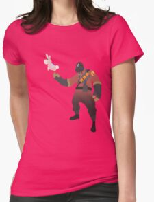 TF2 - RED Pyro / Pyrovision Womens Fitted T-Shirt