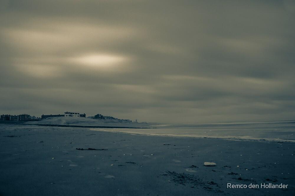 Winter Beach #1 by Remco den Hollander