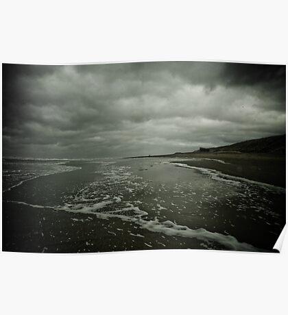 Winter Beach #3 Poster