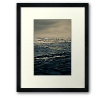 Winter Beach #4 Framed Print