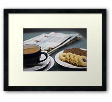 Time For Tea Framed Print