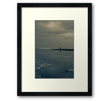 Winter Beach #7 Framed Print