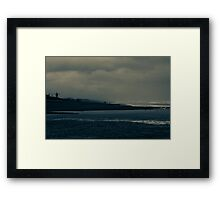 Winter Beach #9 Framed Print