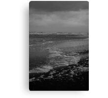 Winter Beach #10 Canvas Print