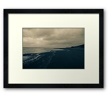 Winter Beach #11 Framed Print