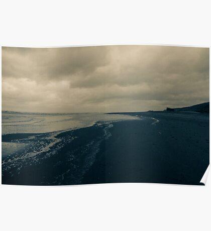 Winter Beach #11 Poster