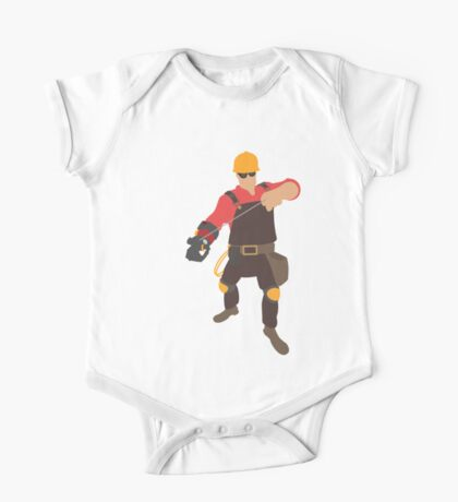 TF2 - RED Engineer One Piece - Short Sleeve
