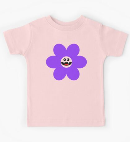 SAVAGE FLOWER PURPLE Kids Tee