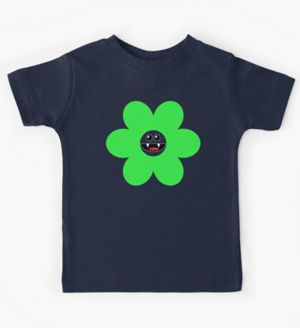 SAVAGE FLOWER GREEN Kids Tee