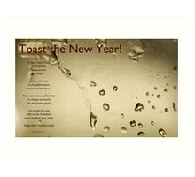A New Year's Toast Art Print