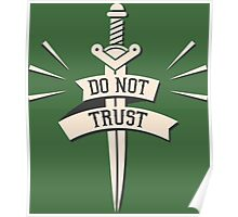 DO NOT TRUST Poster
