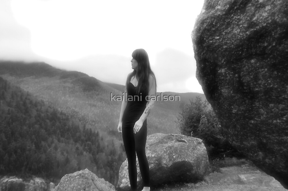 Self Portrait, taken at Mountain Guide and Climbing School by kailani carlson