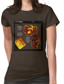 Analogue photography Womens Fitted T-Shirt