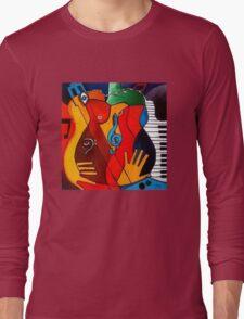 Feeling Music Long Sleeve T-Shirt