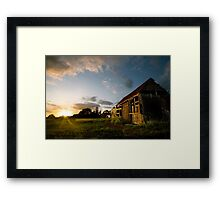 Fenland Summer Solstice Framed Print