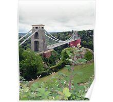 Clifton Suspension Bridge 01 Poster