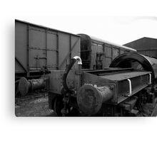 Trains at Howarth Canvas Print