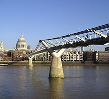 Millennium Bridge - London by James Kowacz