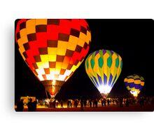 Mesilla Valley Balloon Rally Canvas Print