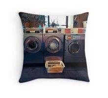 Launderette Throw Pillow