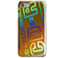 CDR ART iPhone Case/Skin