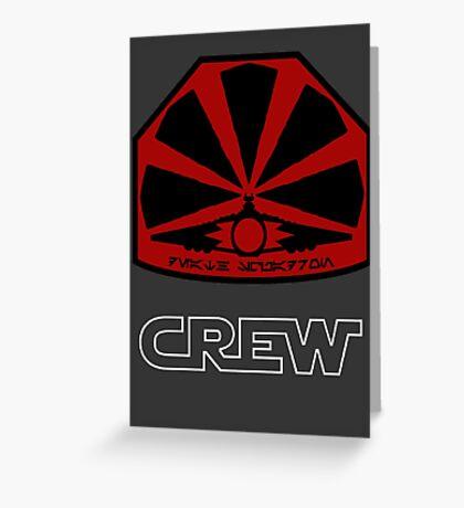 Death Squadron - Star Wars Veteran Series Greeting Card