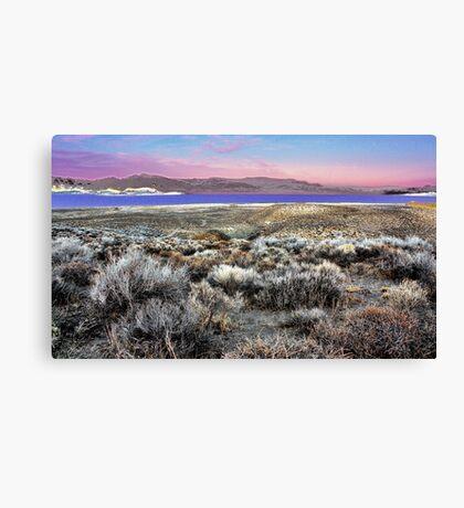 Pyramid Lake at Sundown #5 Canvas Print