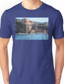 Yachts in Sorrento Harbor Unisex T-Shirt