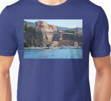 Yachts in Sorrento Harbor Unisex T-Shirt