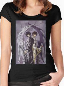 Code Geass Women's Fitted Scoop T-Shirt