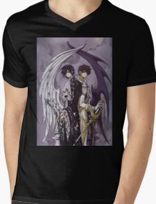 Code Geass Mens V-Neck T-Shirt