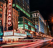 Chicago Theatre by Eddie Yerkish