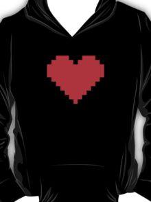 Pixel Heart- Red T-Shirt