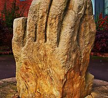 Clasped Hands by Peter Stone