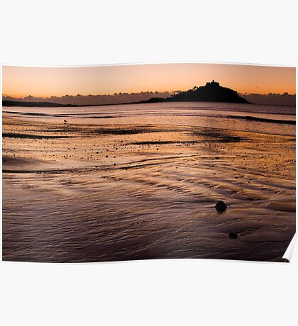 St. Michaels Mount, Cornwall Poster