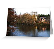 Riverside Cottage Greeting Card