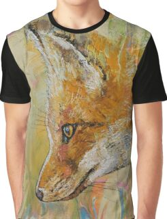 Red Fox Graphic T-Shirt